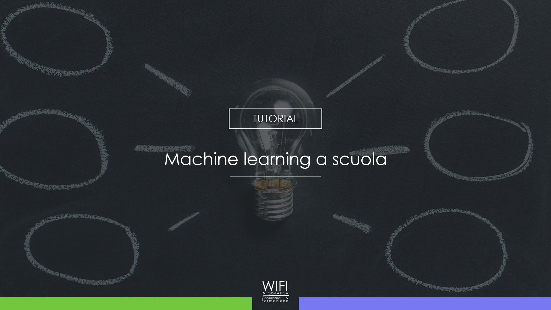 machine learning scuola