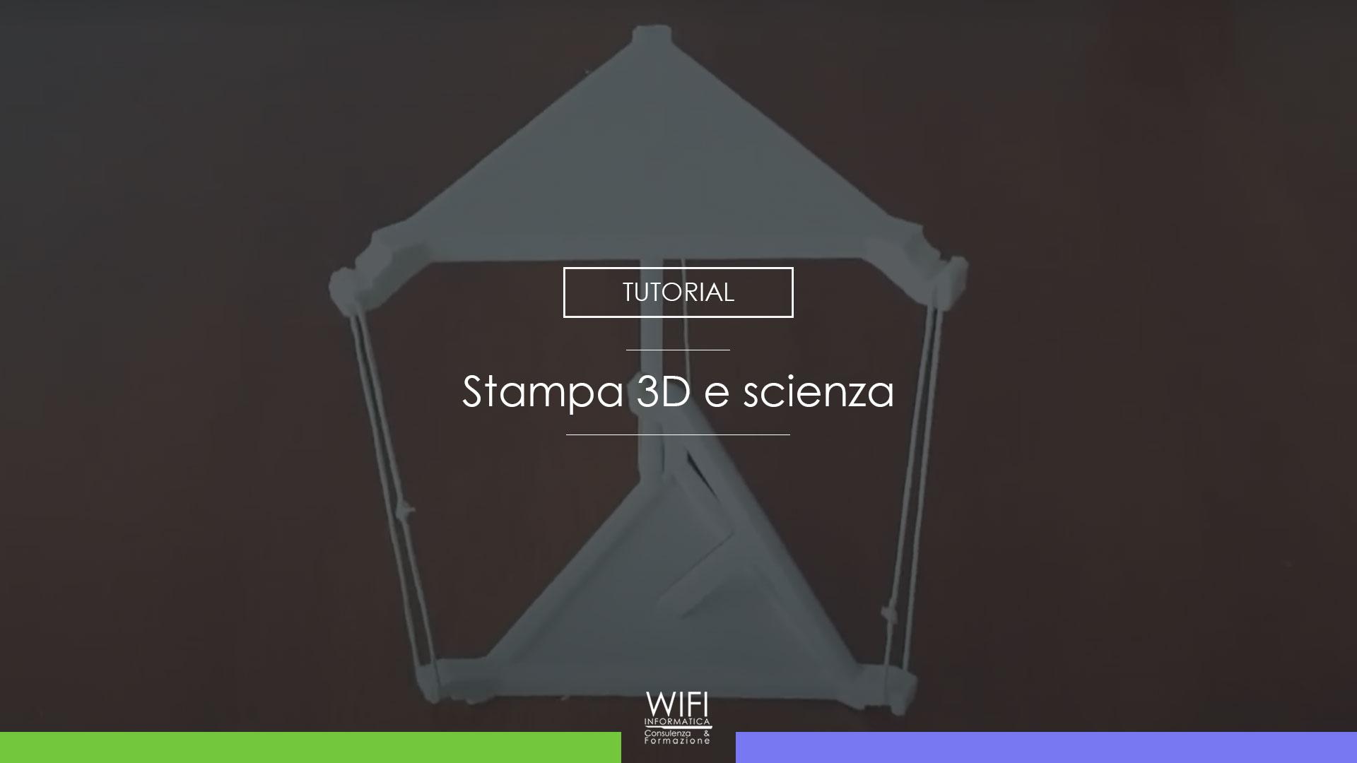 scienza stampa3d