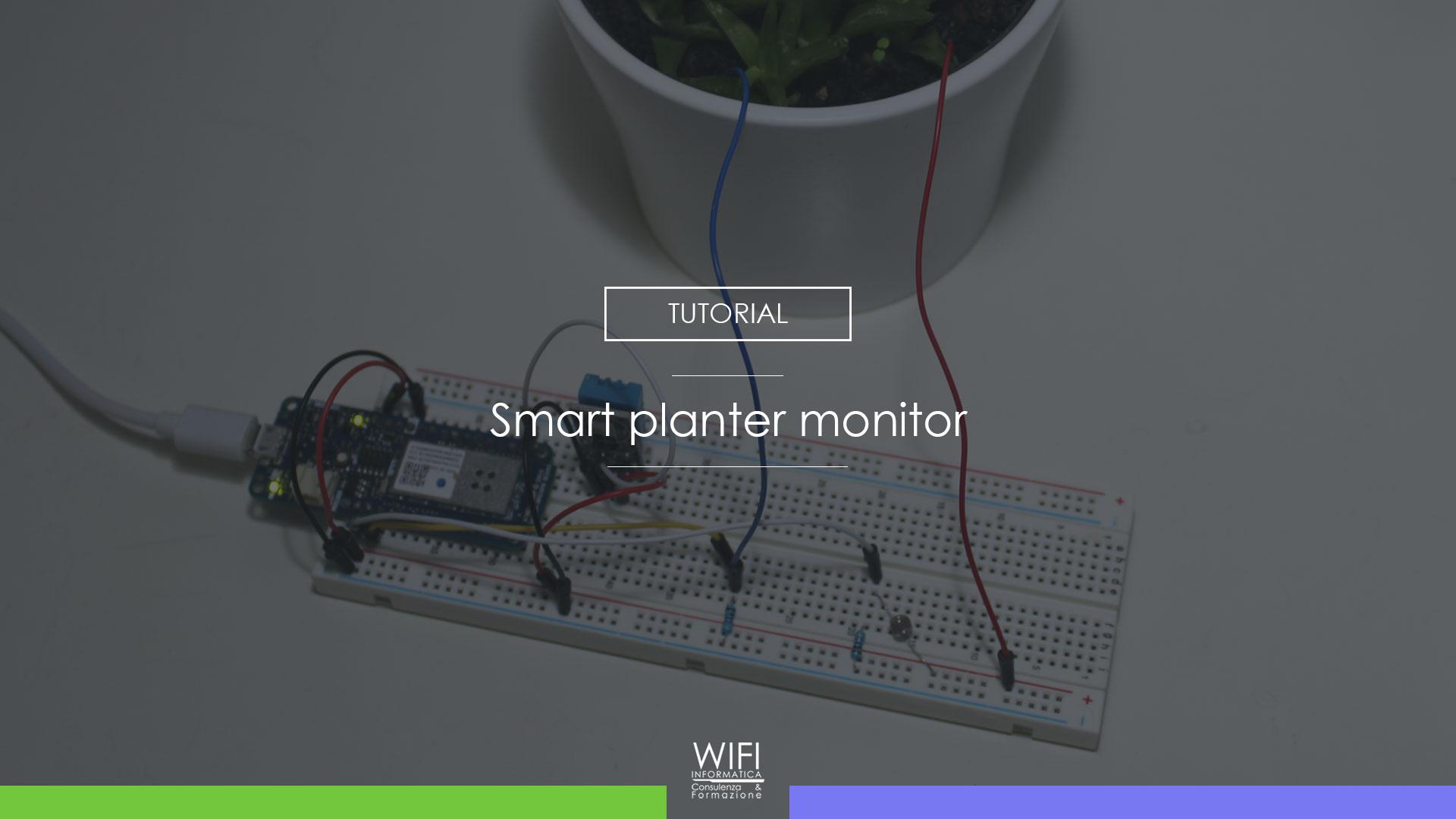 smart planter monitor