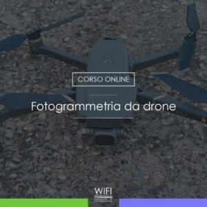 corso fotogrammetria drone